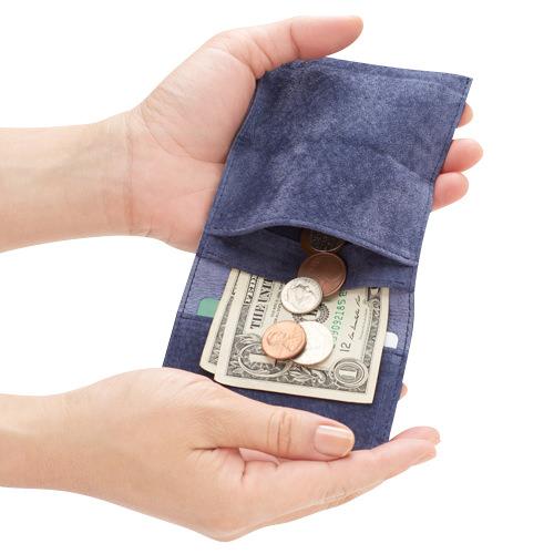 watote(ワトテ)洗える豚革の薄い財布02
