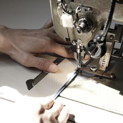 working process-縫製