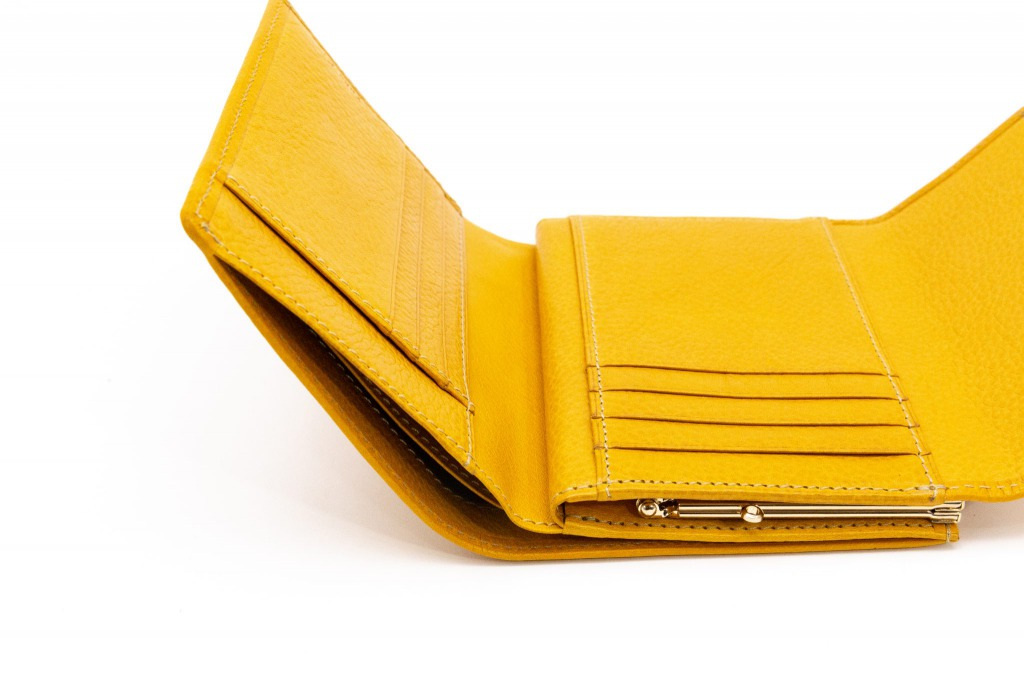 がま口三つ折り財布-サムネイル