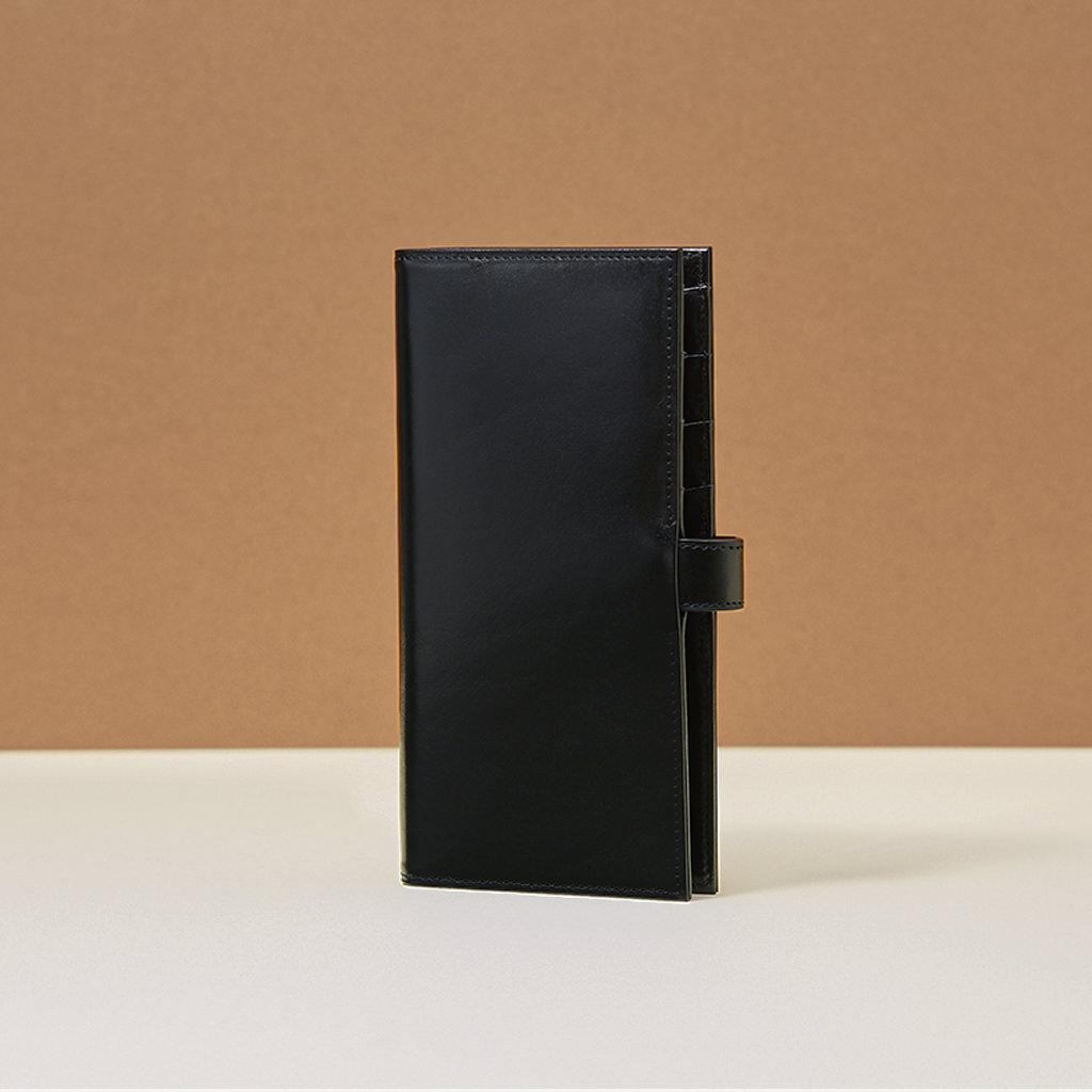 glitchd C03 Long Wallet Black