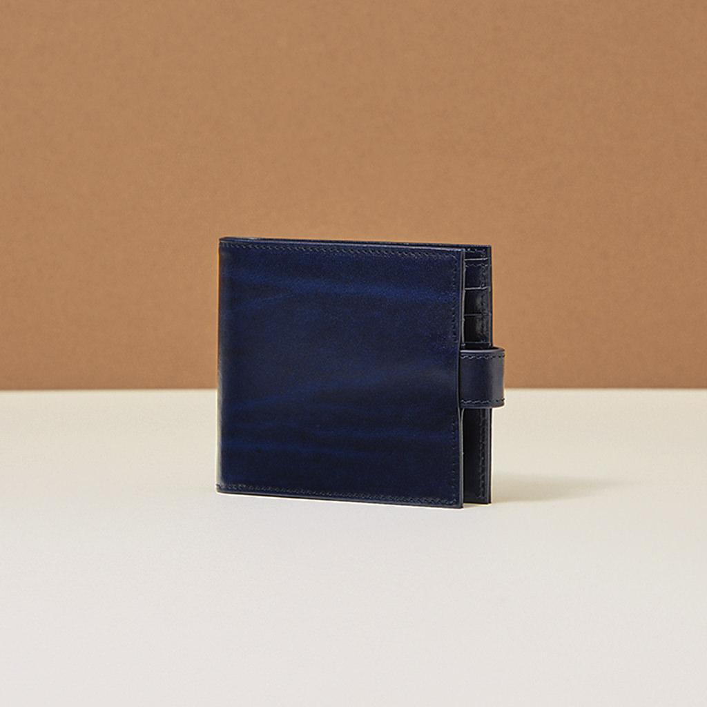 glitchd C02 Short Wallet Navy