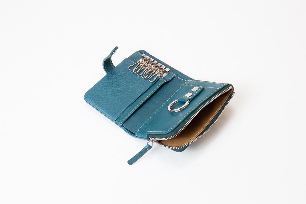 キーケース付きミニ財布-小銭