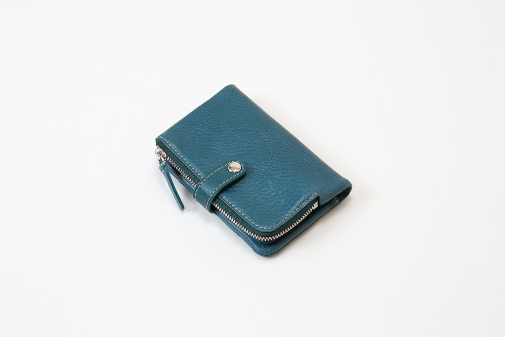 キーケース付きミニ財布-外