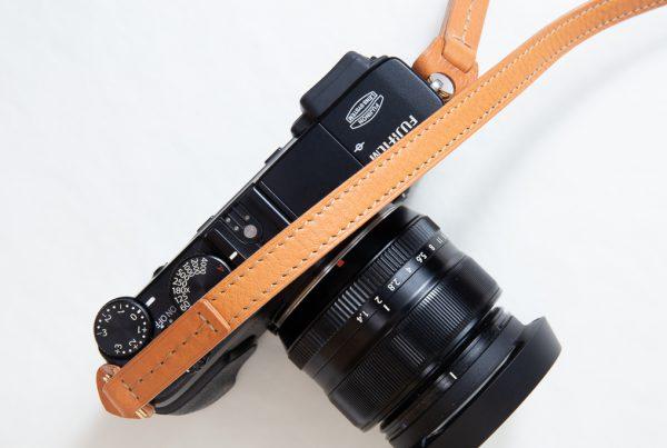 本革 カメラストラップ