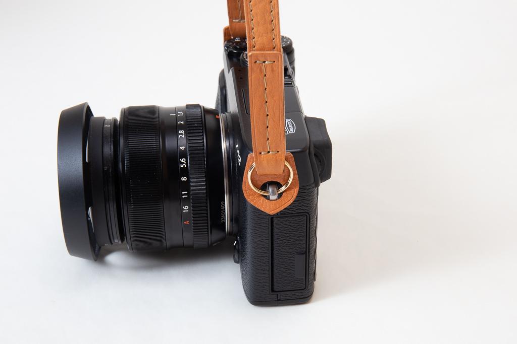 ミラーレス 本革カメラストラップ