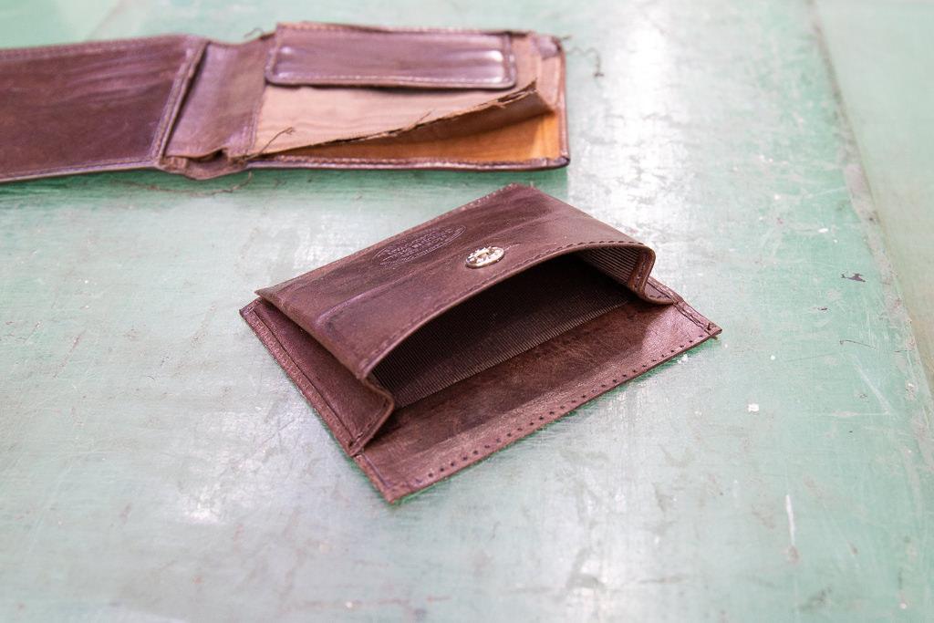 二つ折り財布修理07