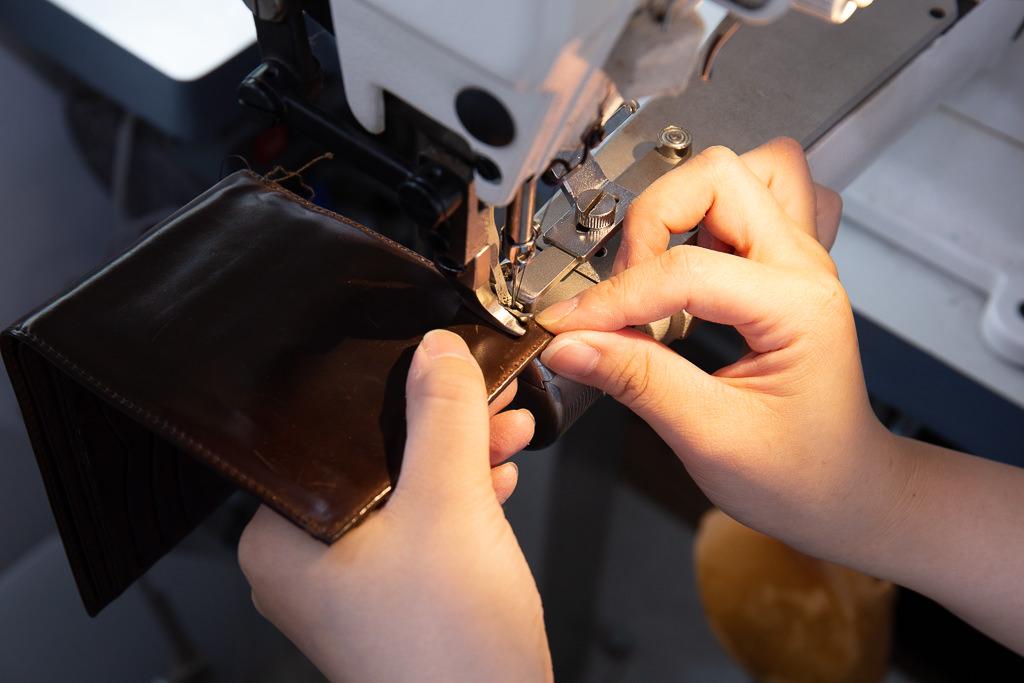 二つ折り財布修理10