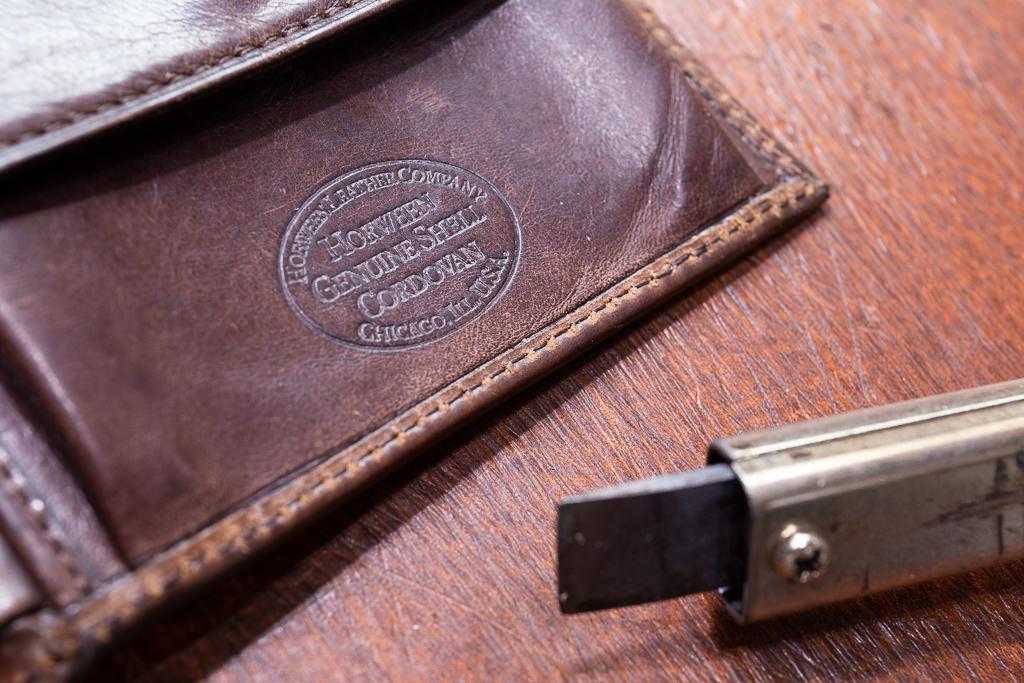 二つ折り財布修理14