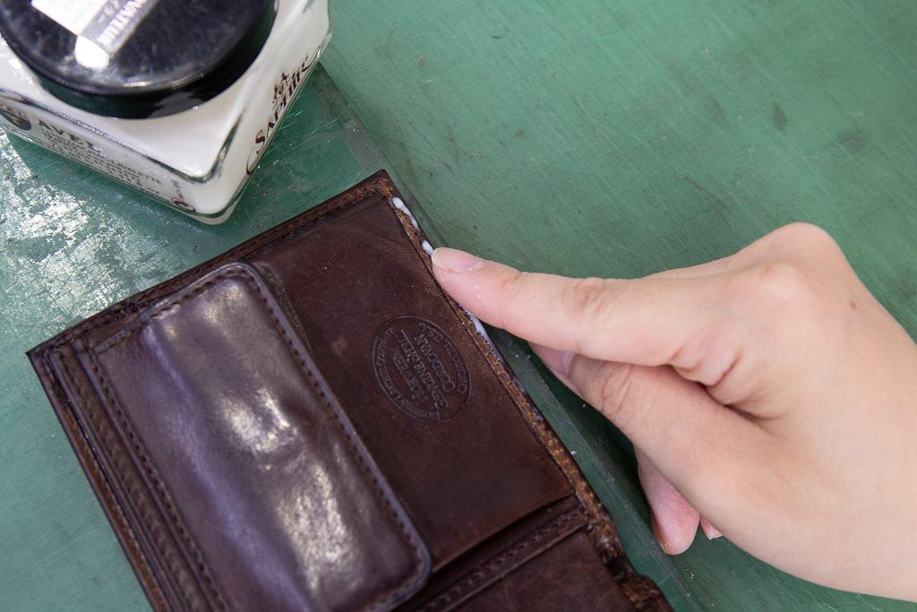 二つ折り財布修理15
